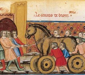 Benoît de Sainte-Maure: Le Roman de Troie. BnF